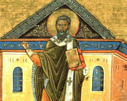 St. Gregory of Nyssa's Amazing Explanation for the Eucharist