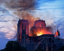 Notre-Dame: The Burning Heart of Paris
