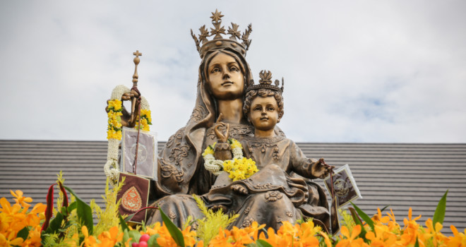 Our Lady of Mount Carmel as Mother for the Motherless