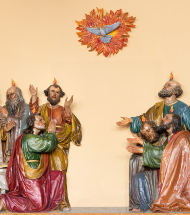 Pray the Pentecost Novena for the Outpouring of the Holy Spirit & for Our Confirmed